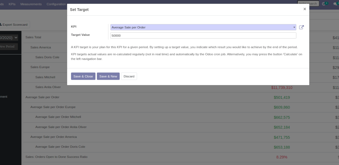 Setting up a new Odoo target