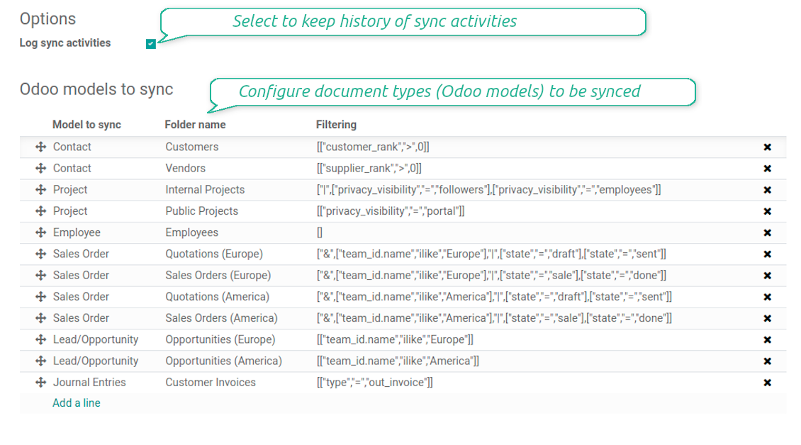 OneDrive / SharePoint models structure