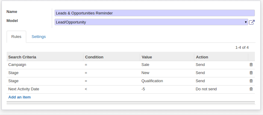Odoo Search and Filter objects