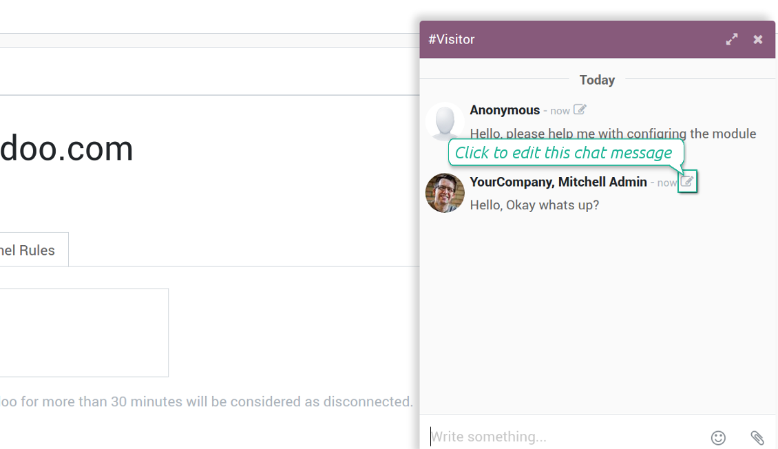 LiveChat Messages